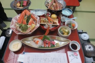 フォーデイズアジェンダ加賀屋料理1