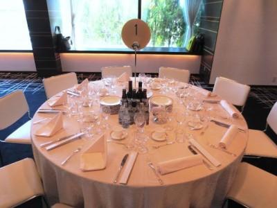 フォーデイズ全国大会試食テーブル